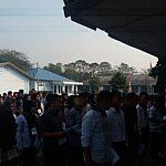 20190828 080218 150x150 Kegiatan Pembukaan Pengenalan Kehidupan Kampus Bagi Mahasiswa Baru (PKKMB). STIKes Dharma Husada Bandung, bertempat di Pusdiklat Paskhas TNI AU. Sulaeman, dengan kegiatan Training ESQ dan Bela Negara STIKes