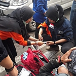 IMG 20190924 WA0008 150x150 MAHASISWA STIKes DHARMA HUSADA BANDUNG MENJADI RELAWAN KESEHATAN PADA DEMONTRASI RUU.KUHP DI BANDUNG STIKes