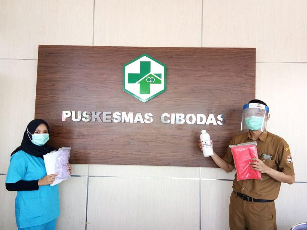 Bantuan Ke Beberapa Puskesmas Di Wilayah Jawa Barat Dlm Rangka Wabah Pandemi Covid 19 Dari Stikes Dharma Husada Bandung